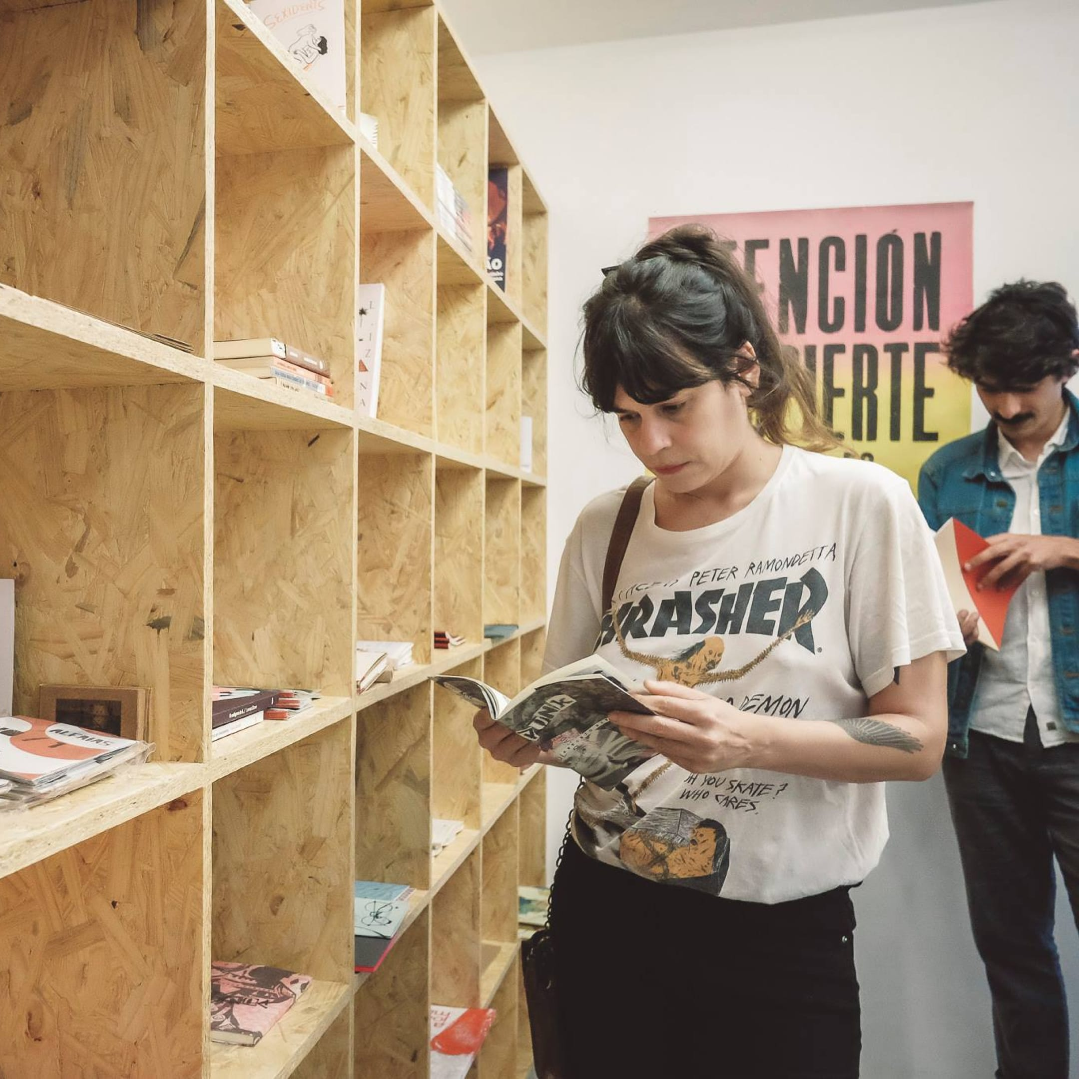 Книжный магазин Sala Tatuí в Сан-Паулу, Бразилия. Источник: фейсбук-страница магазина