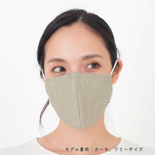 ファブリックケアマスク OCカーキ モデル1