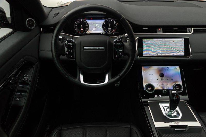 "Land Rover Range Rover Evoque P300 R-Dynamic 300pk AWD Black Pack Panoramadak ClearSightSpiegel MeridianSound Volleder AmbientLight Navi Keyless Full-Led DAB 20"" 360Camera Pdc afbeelding 3"