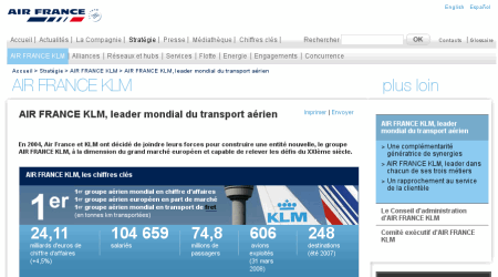 site corporate airfrance