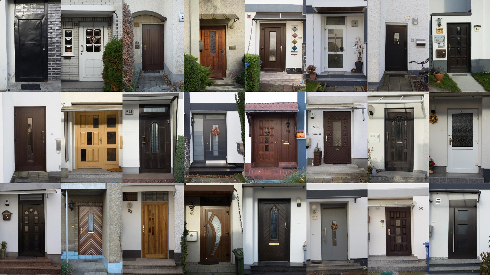 Dessau-Törten Doors