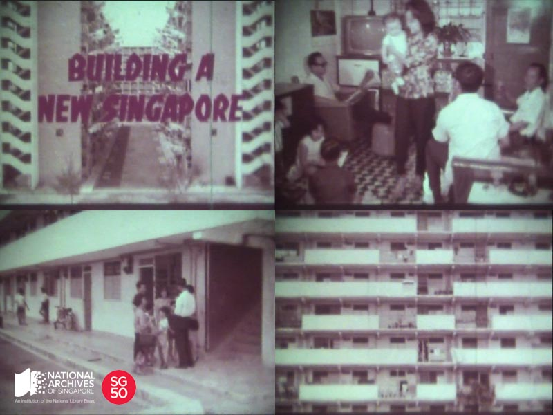 Housing and Development Board, courtesy of the National Archives of Singapore