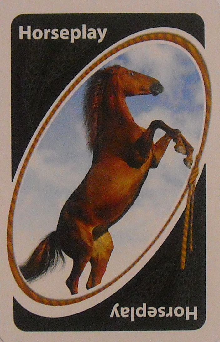 Horses Uno (Horseplay Card)