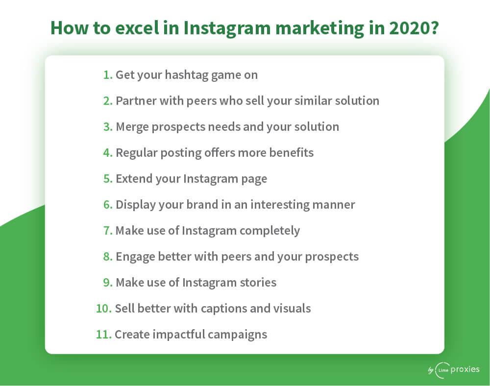 Instagram marketing best practices