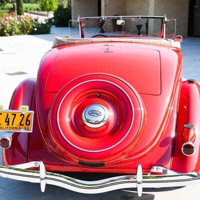 Ford V8 DeLuxe 2 Door Roadster 1936 5