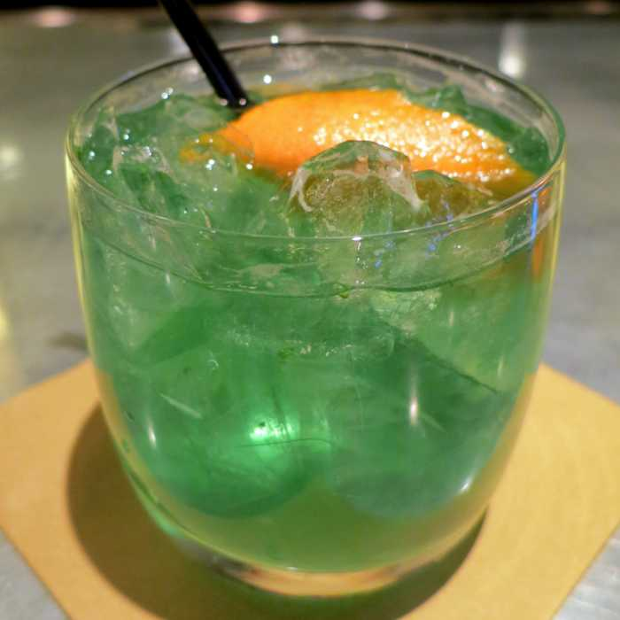 Green Goblin Cocktail