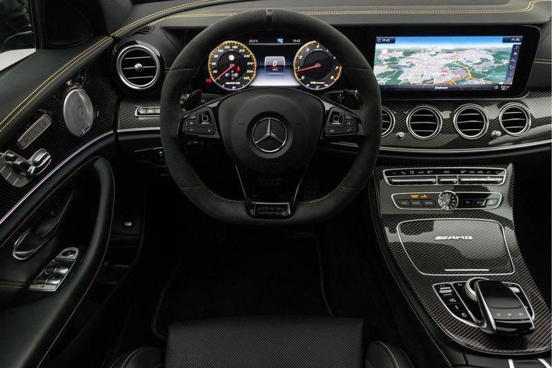 "Mercedes-Benz E-Klasse E63s AMG EDITION 1 4Matic 612pk (MAGNO MAT) Panoramadak Distronic Nightpakket Schaalstoelen Burmester Carbon ComandOnline Keyless 20"" Parktronic Pdc afbeelding 3"
