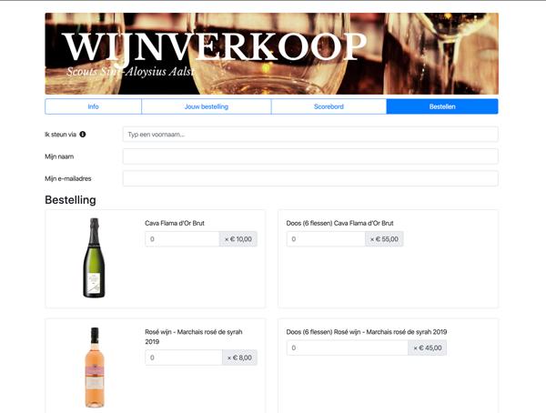 Bestellen kan eenvoudig online, met afhaling na de coronaperikelen.