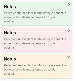 Notus - Web Popup Notifications