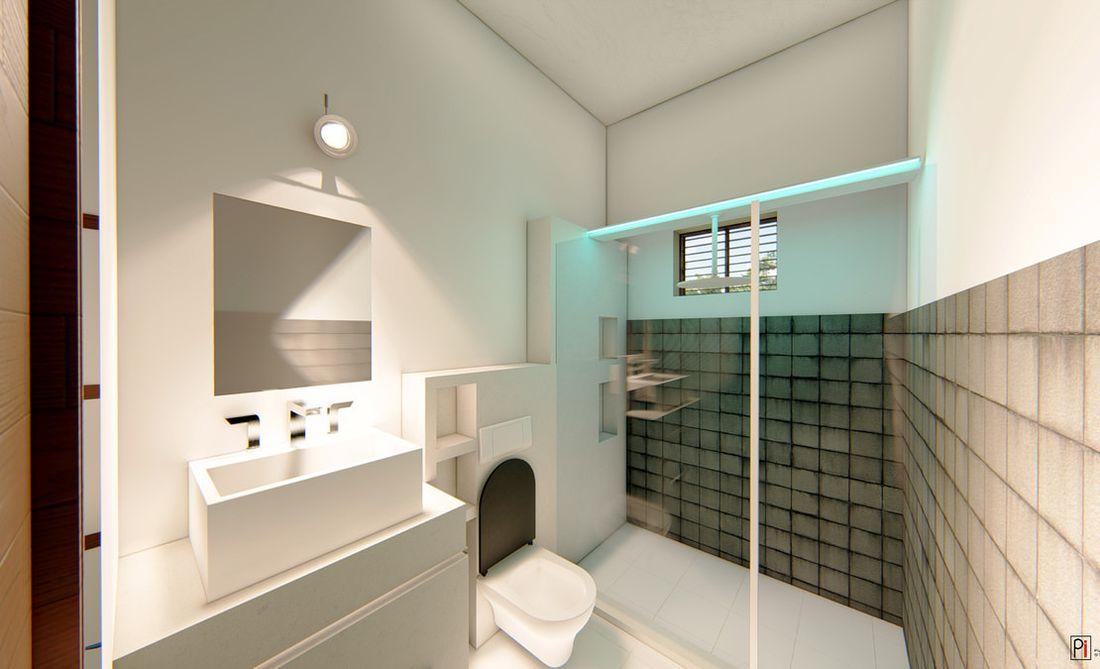 Vitrag Streamside Apartment for sale near Ooty - Bathroom