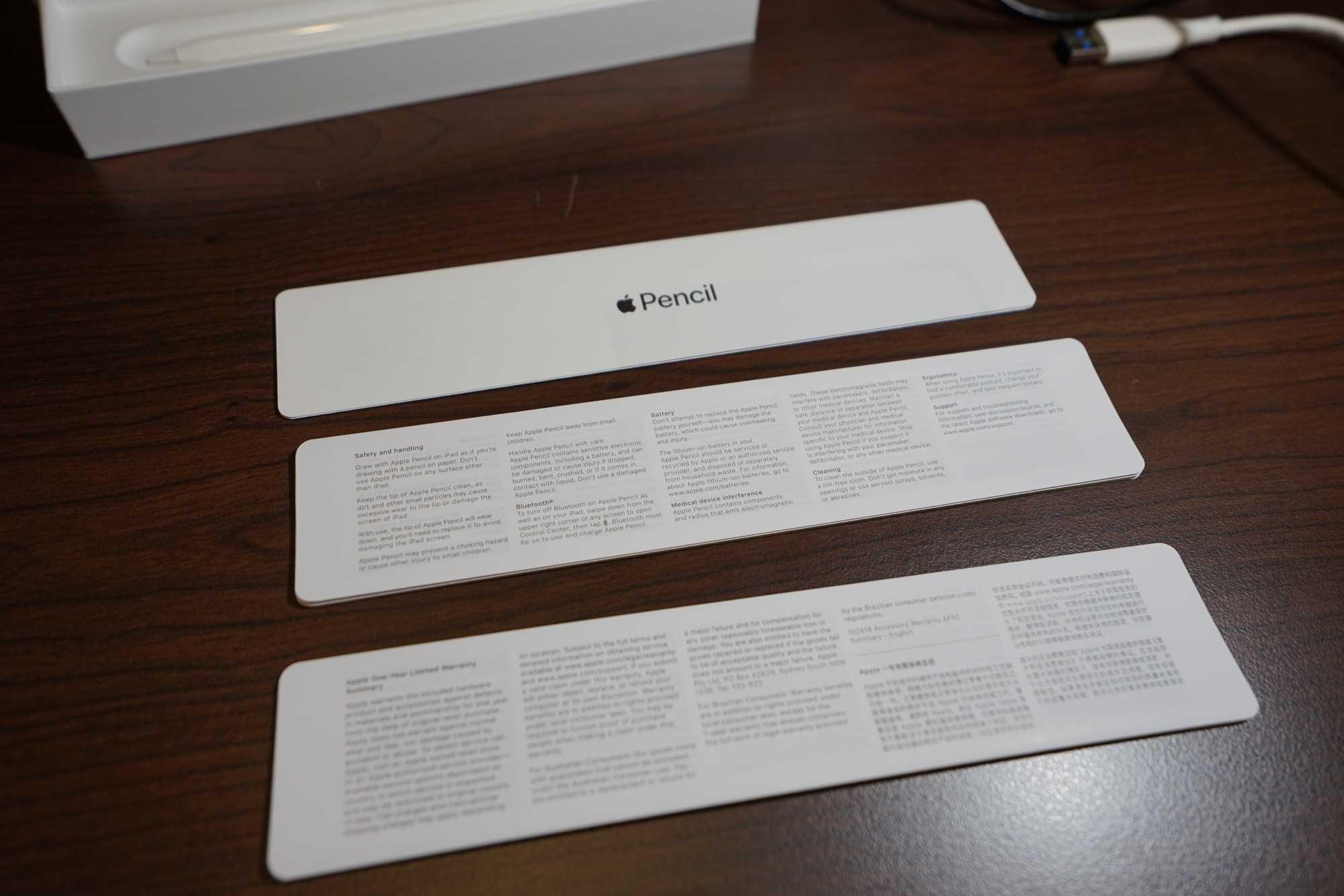 Apple Pencil Paper Work