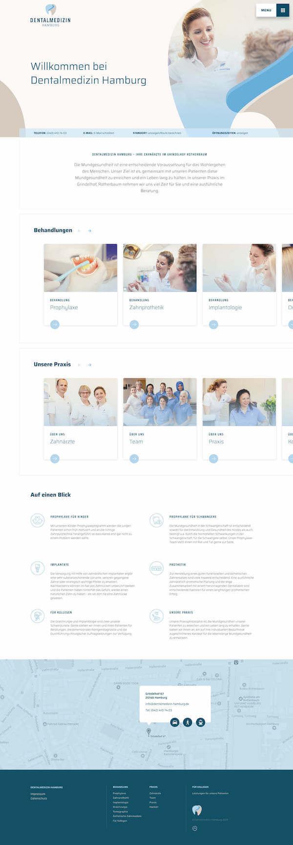 Preview of the project Dentalmedizin