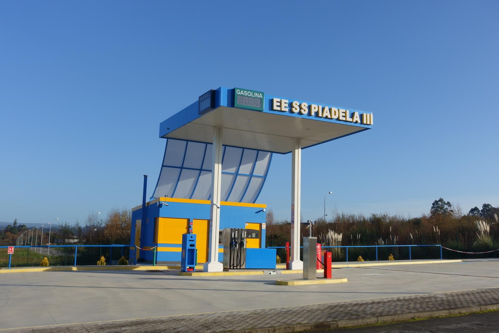 Foto de gasolinera 1