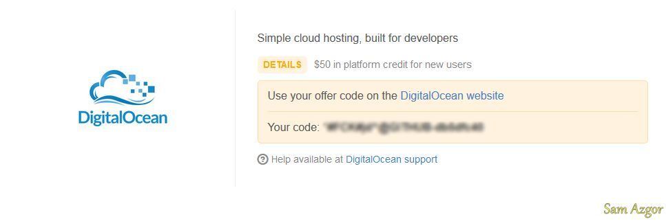DigitalOcean Promo Code - $50 Credit