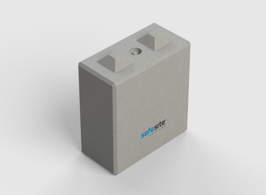 Concrete Lego Block LG2