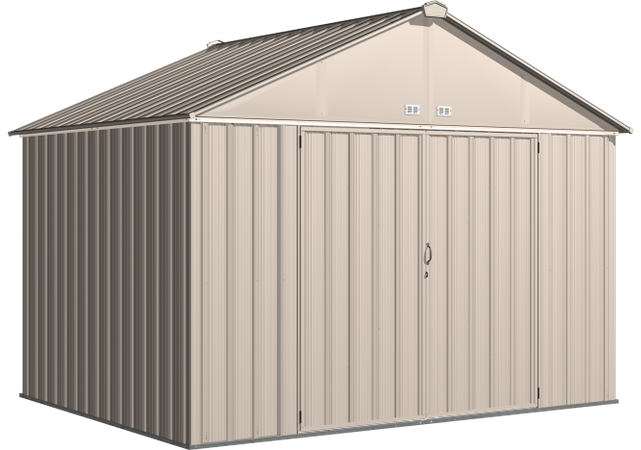 10x8 EZEE Shed in Cream