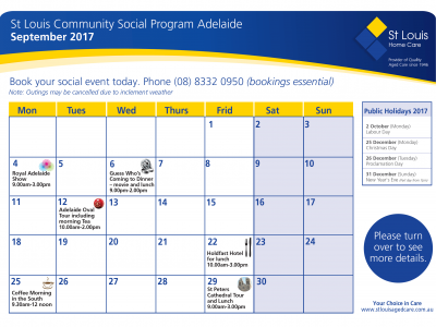 September Community Social Adelaide