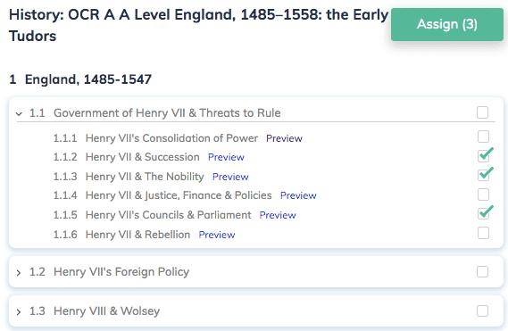 History: OCR A A Level England, 1485–1558: the Early Tudors