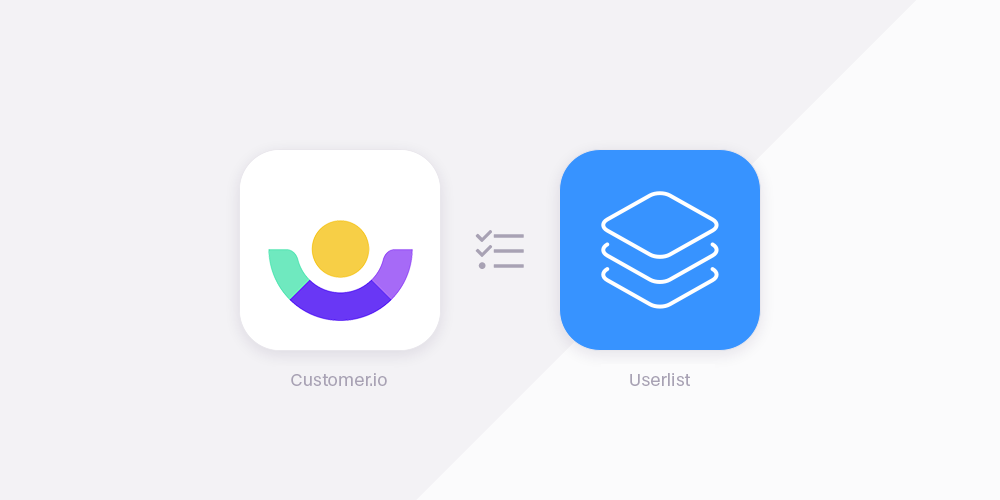 Customer.io vs Userlist