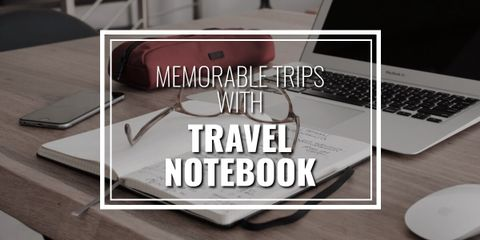 The Moleskin Travel Notebook is large enough so that you can write down all you need. The notebook is durable, hard-ruled, compact and rounded corners.
