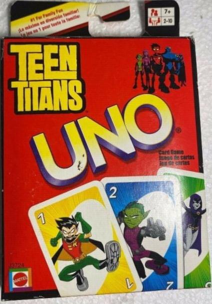 Teen Titans Uno