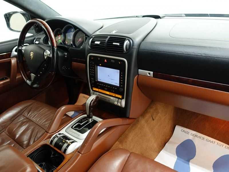 Porsche Cayenne 4.8 Turbo 500pk Autom, Schuifdak, Leer, Bose, Xenon, Memory, Full! afbeelding 23
