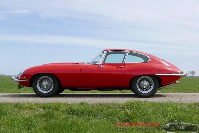 "Jaguar ""E"" TYPE G.T. 3.8 L Series 1 FHC Matching numbers FIVA ID orig. NL-Auto afbeelding 9"