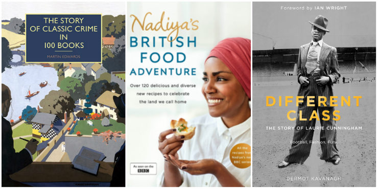 The Story of Classic Crime in 100 Books, Nadiya's British Food Adventure, Different Class: football, fashion and funk - the story of Laurie Cunningham