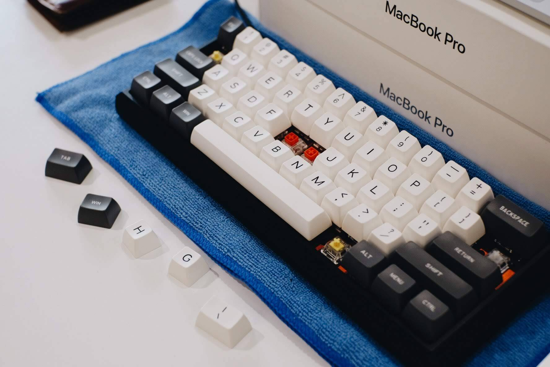 บันทึกการทำ Custom Mechanical Keyboard ภาค 2