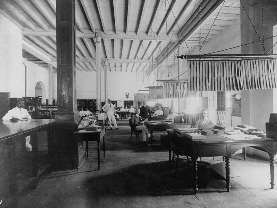 Offices of Netherlands Trading Society, Cecil Street, Singapore, c. 1925