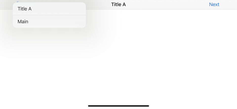 A view controller's title or navigationItem.title will use as back button title