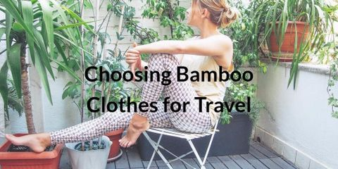 Bamboo clothing is extremely eco-friendly – bamboo is one of the most sustainable and environmentally friendly plants in the world.