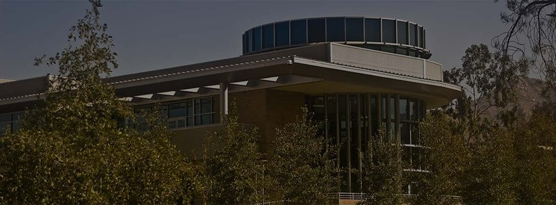 Building on the campus of UC Riverside