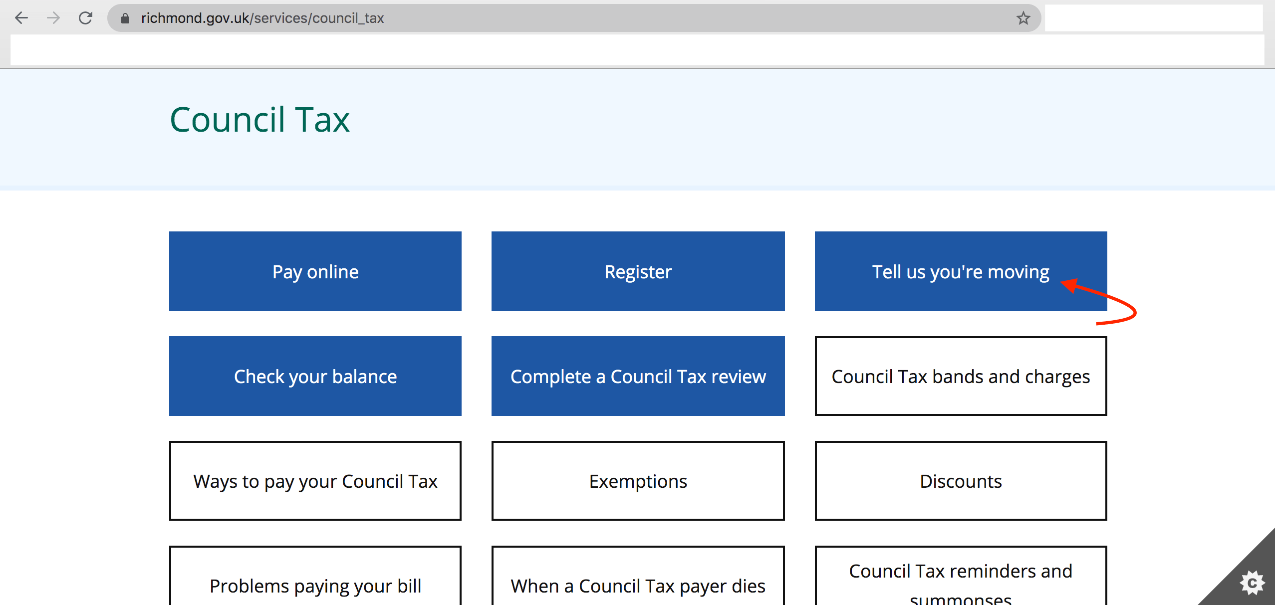 Council Tax cancellation