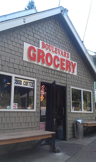 Boulevard Grocery Front