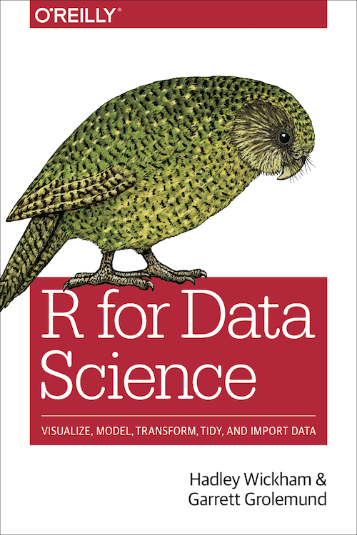 R for Data Science book cover