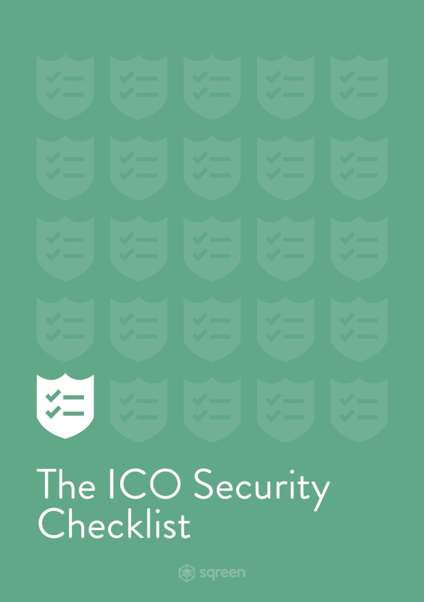 ICO Security Checklist
