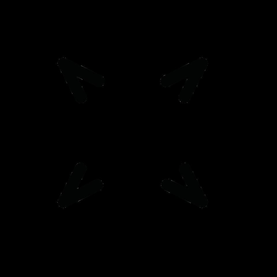 Map compass circle