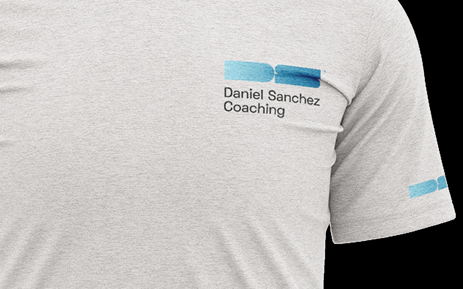 Branded t-shirt for Daniel Sanchez' personal training business