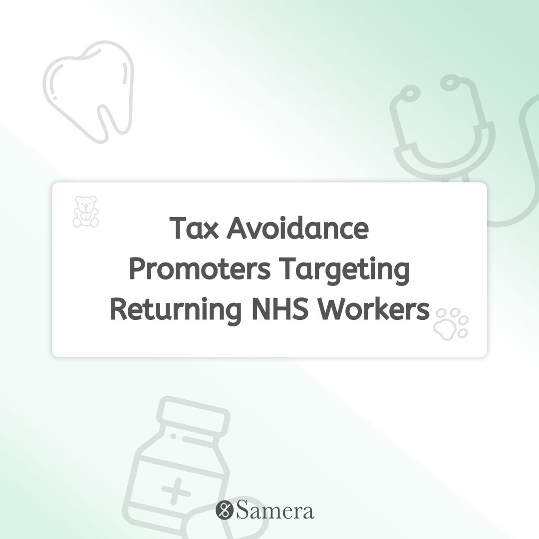 Tax Avoidance Promoters Targeting Returning NHS Workers