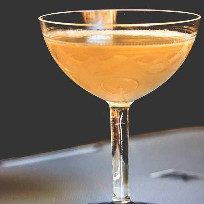 Bellini Martini Cocktail