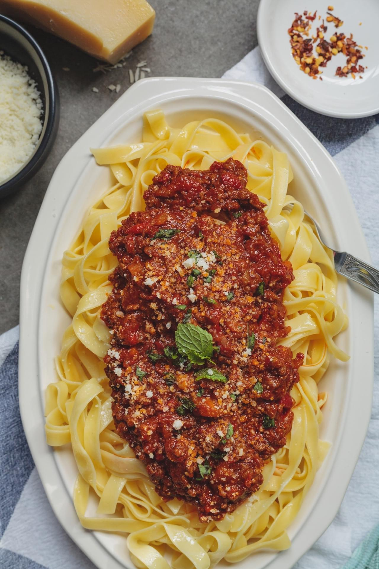 Lamb And Harissa Ragu
