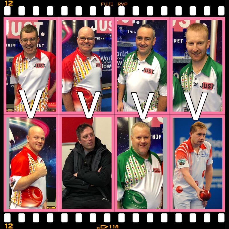 LINE UP CONFIRMED FOR THE WORLD INDOOR SINGLES QUARTER FINALS