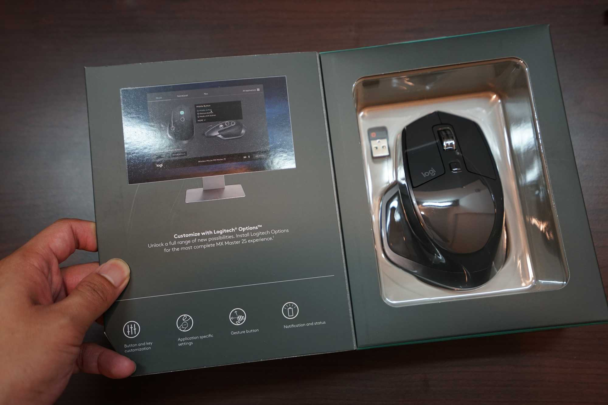 Logitech MX Master 2S Inside Box