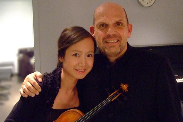 Performing with Jaap van Zweden