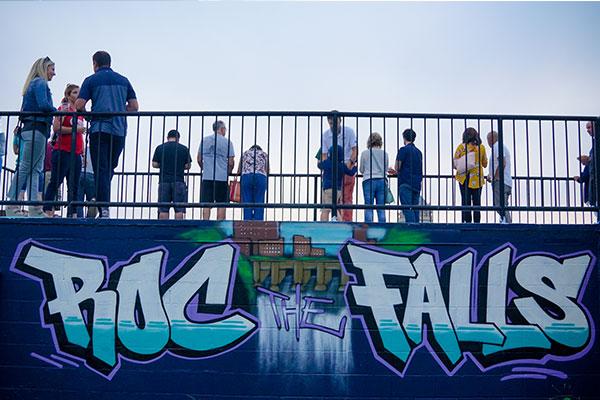 ROC the Falls Mural