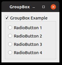 pyqt groupbox
