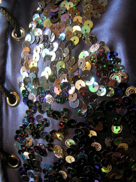 Sequin detail
