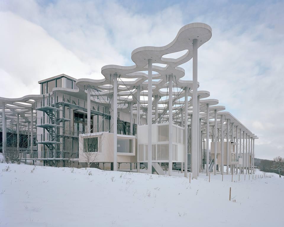 Резиденция для писателей в комплексе фонда Яна Михальского в Швейцарии. Источник: fondation-janmichalski.com