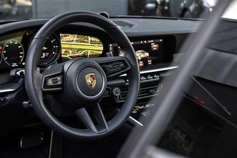 Porsche 911 4S SPORTDESIGN+LIFTSYST.+GLAS DAK+4WSTURING NP.219K afbeelding 22